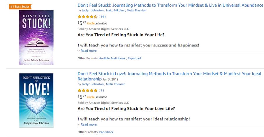 Dont Feel Stuck Books
