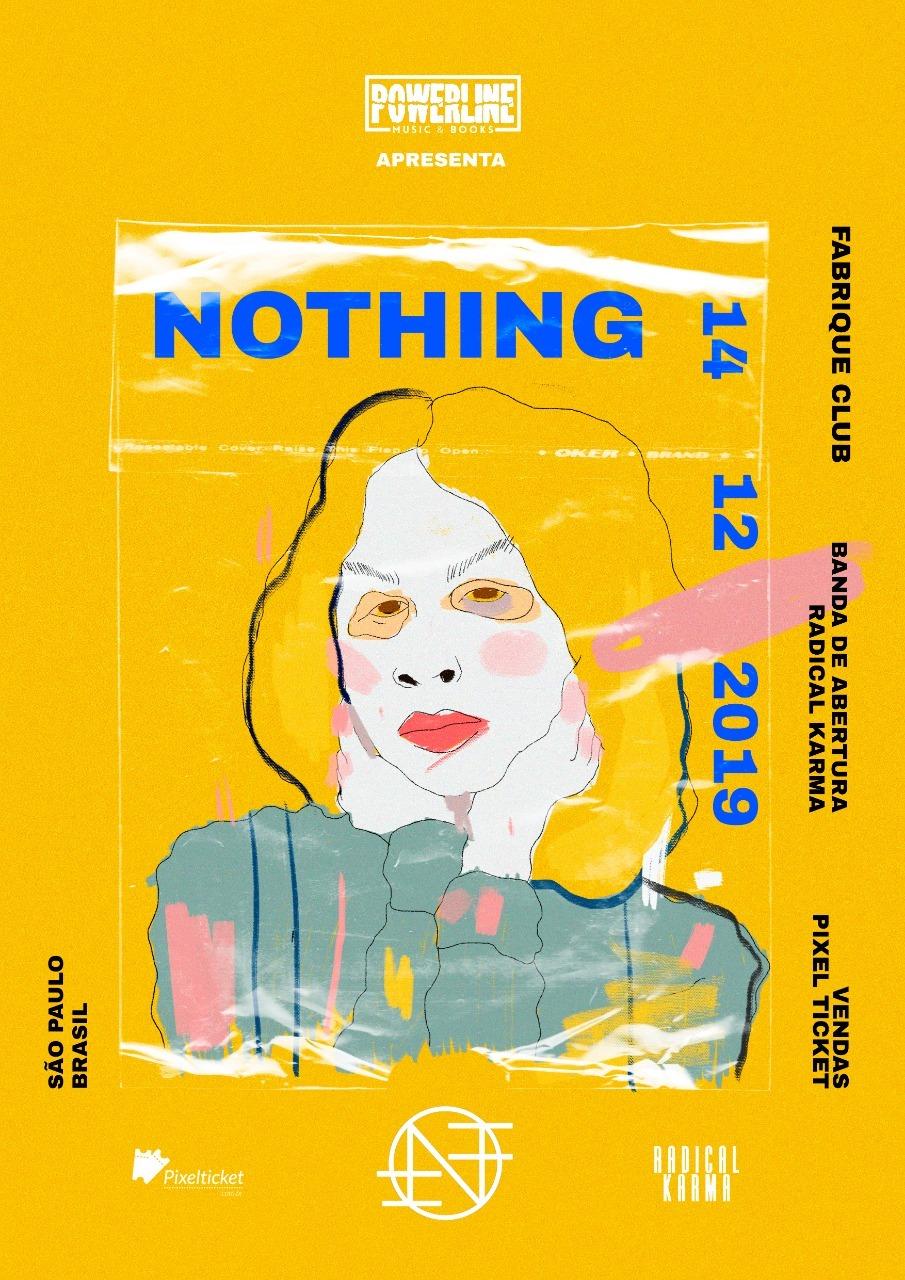 Referência da nova geração do shoegaze, Nothing estreia no Brasil em dezembro