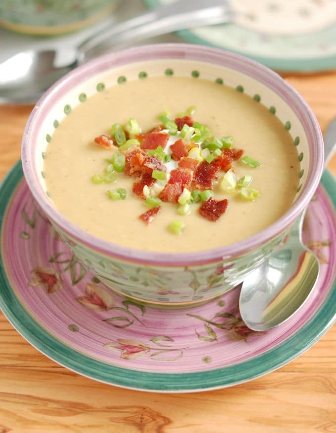 Celeriac Leek Potatoe Soup