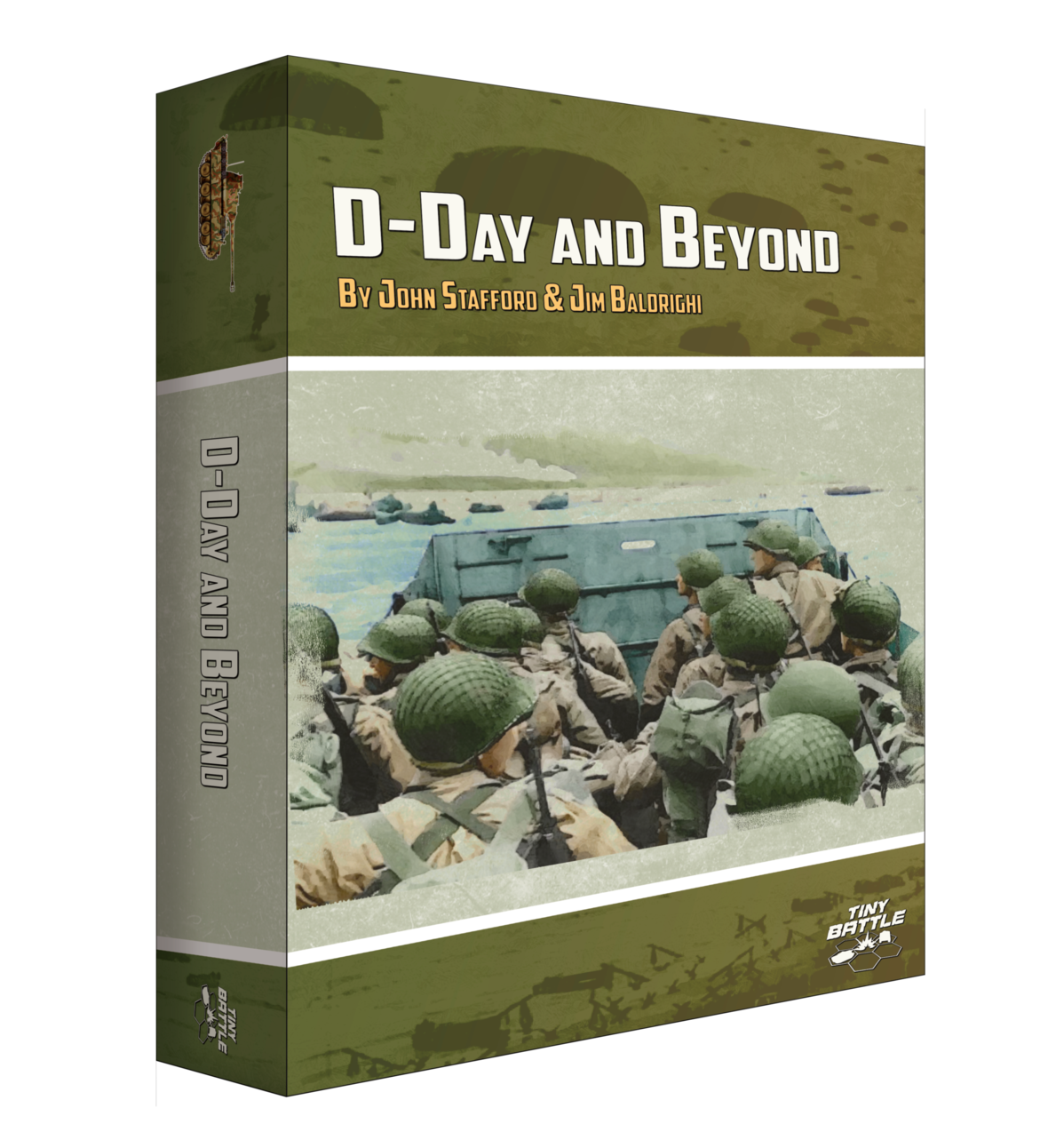Front Cover Box D-Day