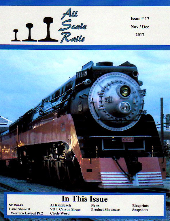 All Scale Rails Cover Issue 17 November December 2017 72DPI