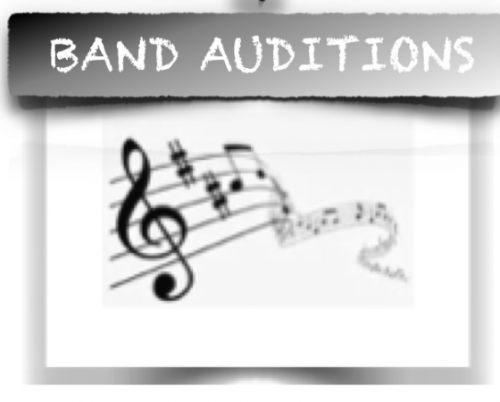 band auditions