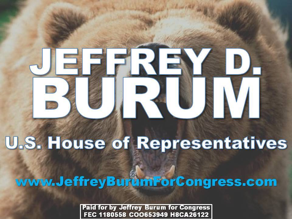 Jeffrey D. Burum yard sign