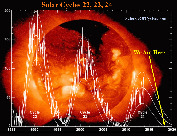 solar cycles 22 23 24 m