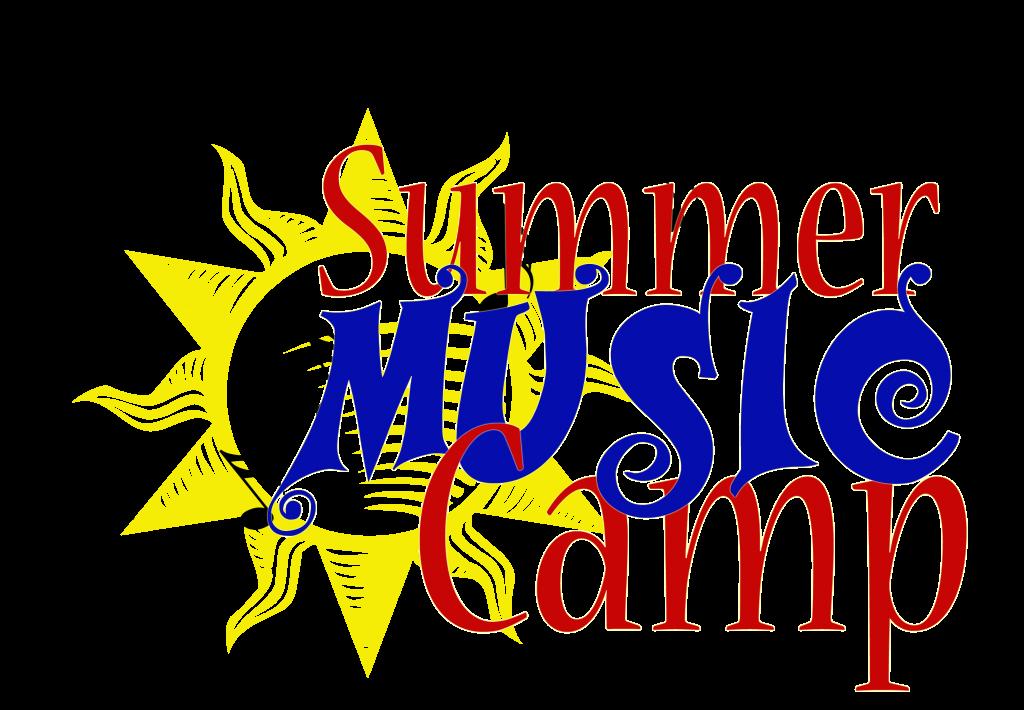 Summer Music Camp sun fun text