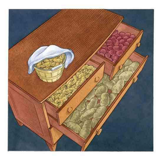 Spare Dresser Crop Storage