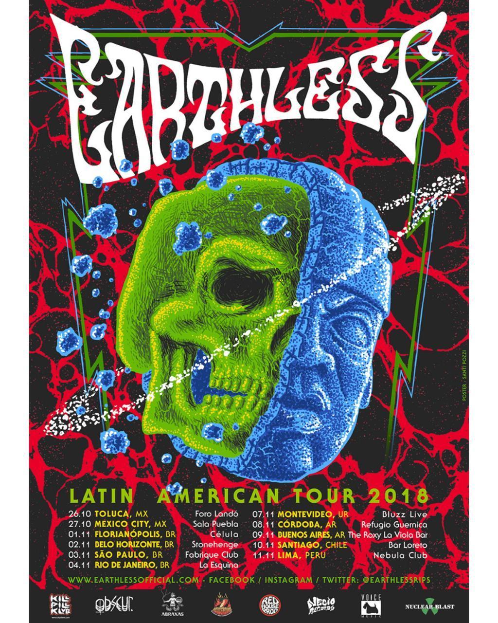 tour earthless atualizado
