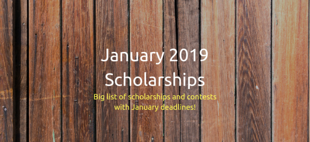January 19 Scholarships