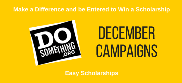 December Scholarships