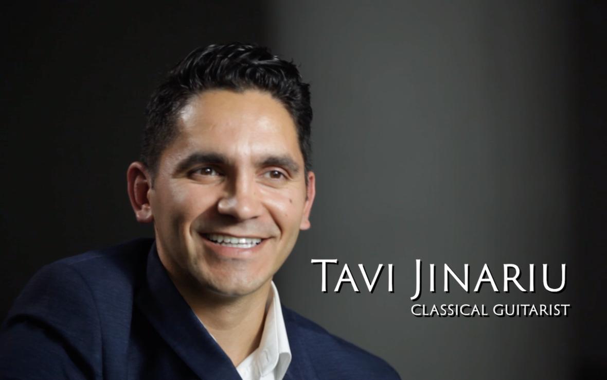 Tavi Jinariu Classical Guitarist EliteGuitarist