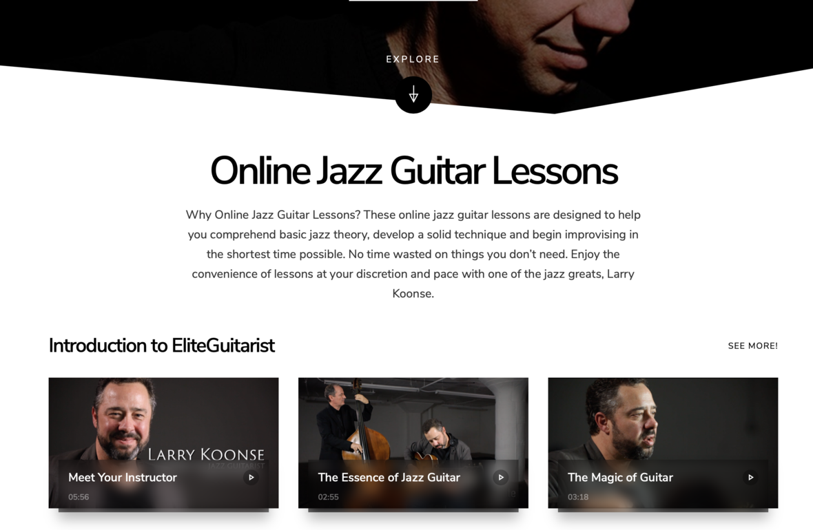 Jazz EliteGuitarist