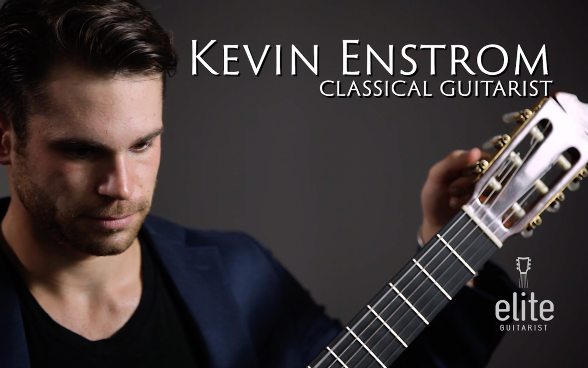 Kevin Enstrom EliteGuitarist Online Classical Guitar lessons