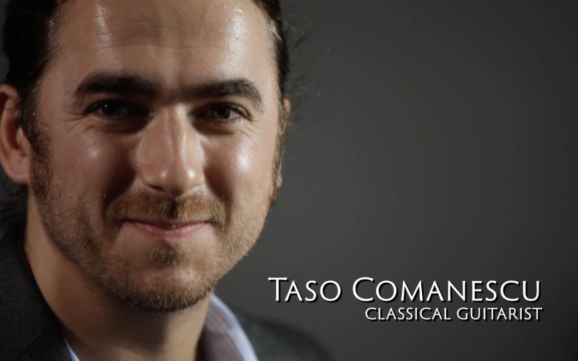 Taso Comanescu EliteGuitarist Online Classical Guitar Lessons