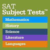 SAT Subject Tests square