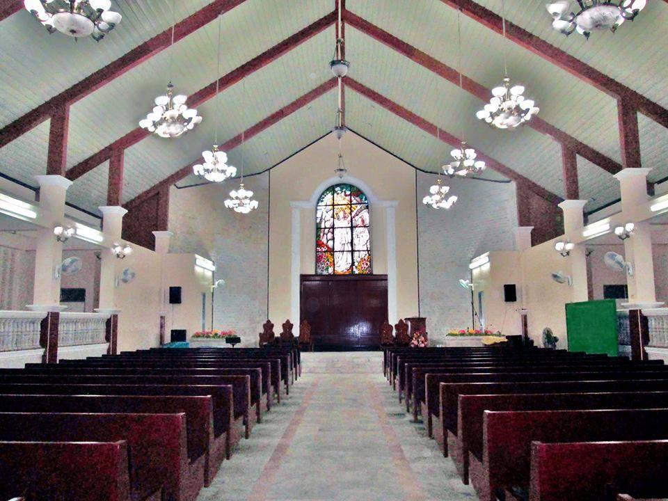 Batiano church inside