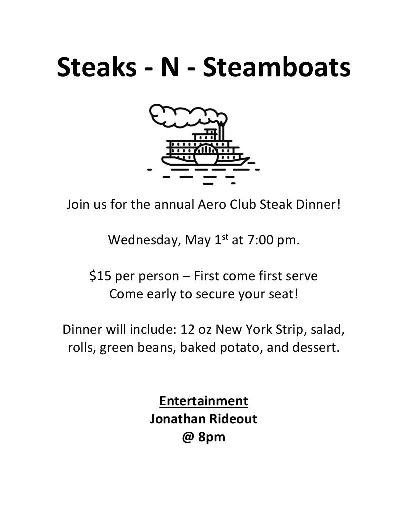 Steak Dinner 2019
