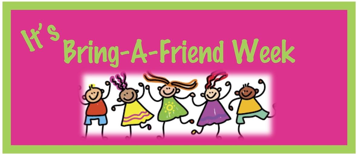 Bring a friend week Banner