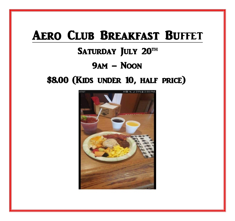 Aero Club Breakfast Buffet New